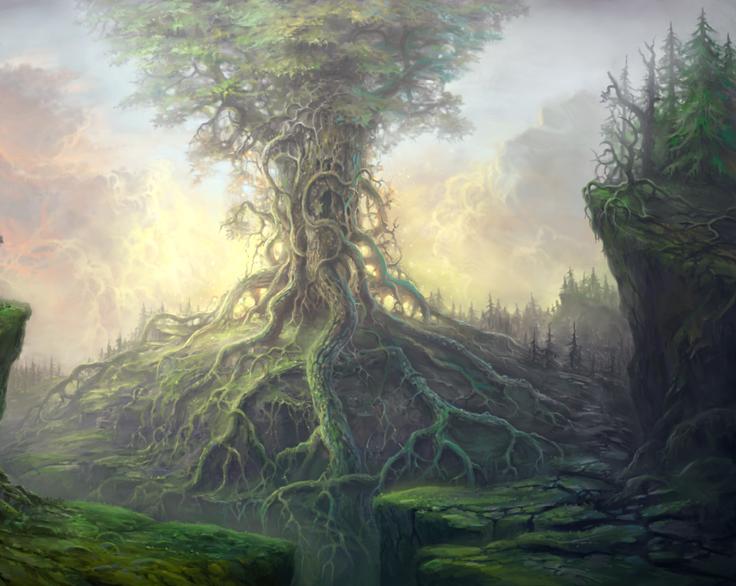 yggdrasil tree